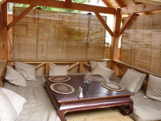 La Cabane  - Lieu calme et reposant le restaurant la Cabane -