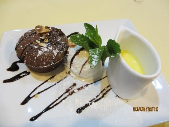 L'Hippocampe (Vieux Port)  - Fondant au Chocolat -