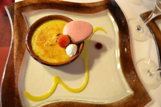 Auberge du Val d'Ornain  - Suggestive crème brûlée -