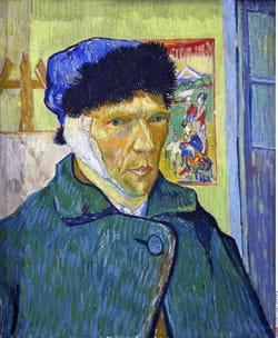 autoportrait vincent van gogh