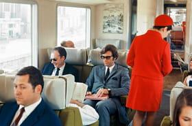 Avant, prendre le train c'était comme ça!