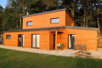 les plus belles maisons en bois des lecteurs. Black Bedroom Furniture Sets. Home Design Ideas