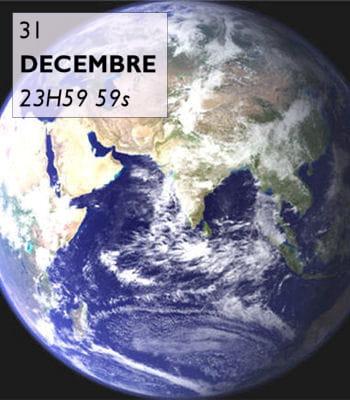 notre ère dureune secondesi l'histoire de l'univers est ramenéeà un an.