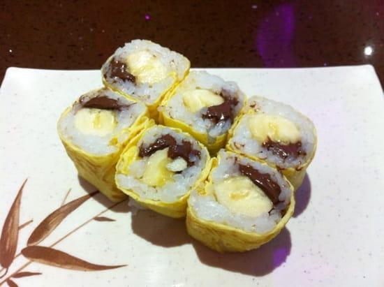 Dessert : Shu Sushi