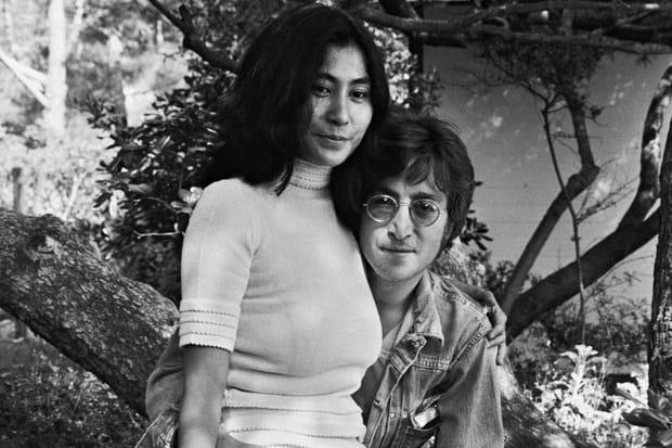 John Lennon et Yoko Ono à Cannes en 1971