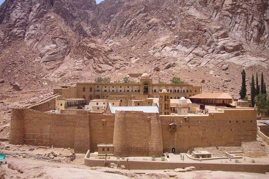 Sainte-Catherine, un monastère en plein désert