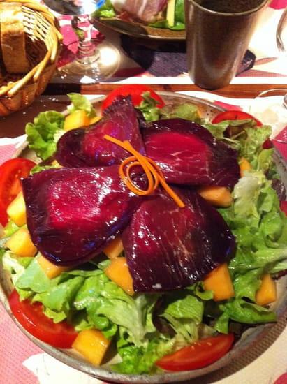La Chaumière  - Assiette Bresaola -