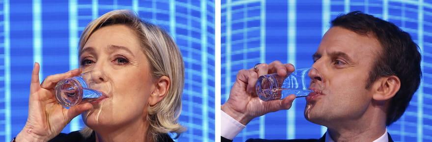 Patrimoine des candidats : l'argent de Macron, Le Pen, Fillon