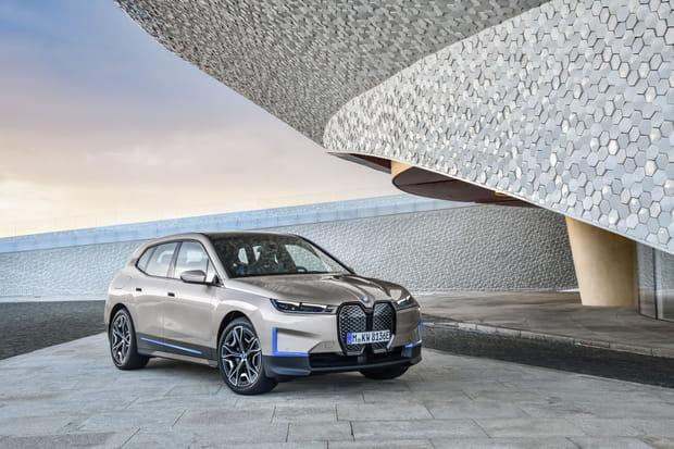 La BMW iX en images