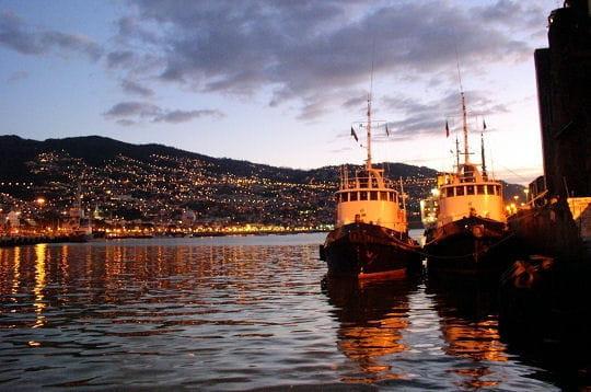 La baie de Funchal à Madère
