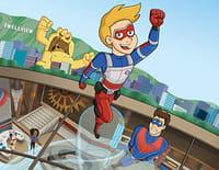 Les aventures de Kid Danger : Super WC. - Bête de stade