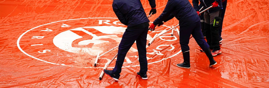 Météo à Roland Garros: de la pluie aujourd'hui, les prévisions pour demain