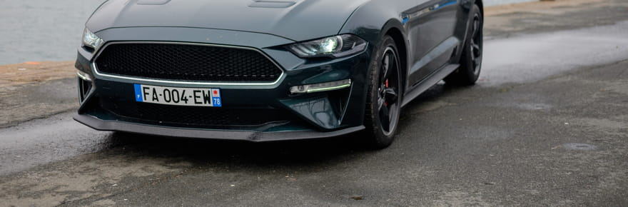 Essai Ford Mustang Bullitt: un futur collector avec son V8testostéroné?