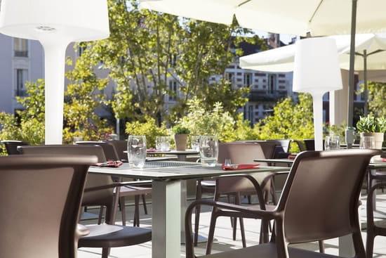 L'Eau à la Bouche  - Terrasse - L'eau à la bouche restaurant Clermont-Ferrand -