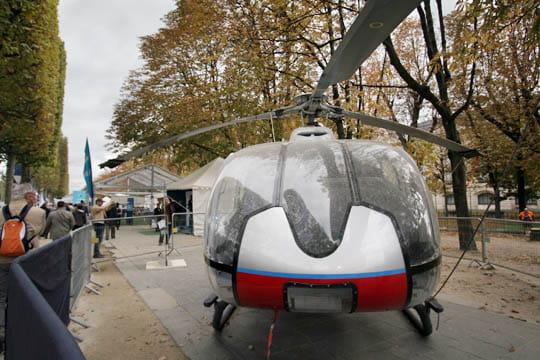 L'hélicoptère EC 130 B4