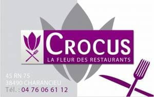 Restaurant : Crocus  - Carte restaurant  -