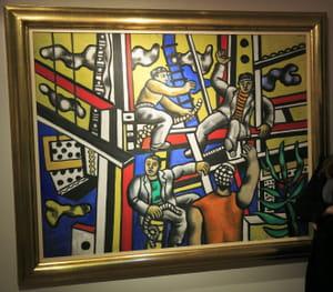 Fernand Léger - Les Constructeurs avec arbre