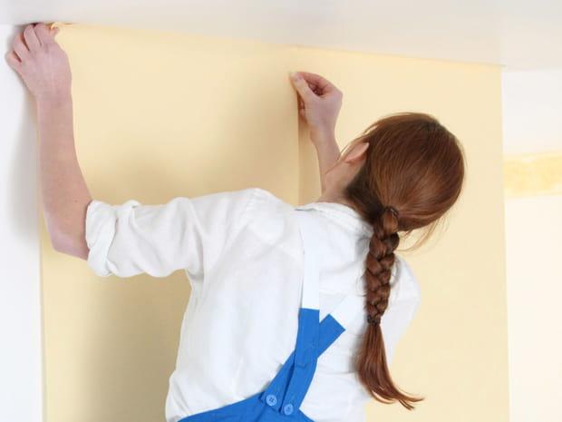 Poser du papier peint intissé