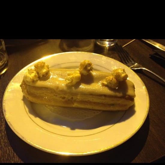 Dessert : Lux Cafe  - Éclair caramel beurre salé -
