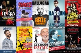 Les 10meilleures pièces de théâtre à Paris