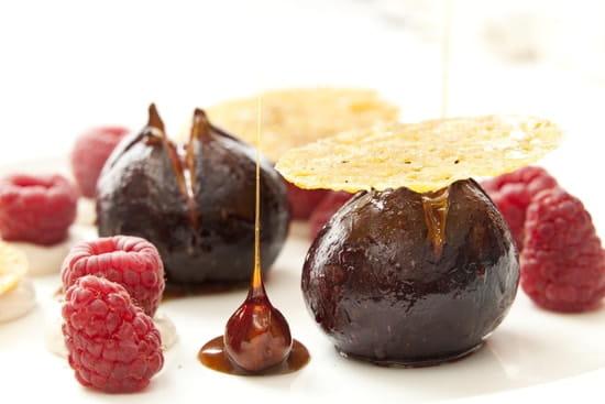 Villa Augusta  - David Mollicone  - Figues et Framboises en dessert -   © Villa Augusta