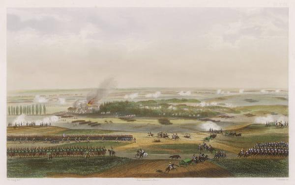 La bataille de Waterloo durant les Cent-Jours de Napoléon Ier