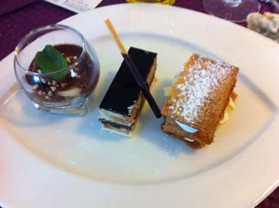 Dessert : Hotel-Restaurant Le Saint-Pierre