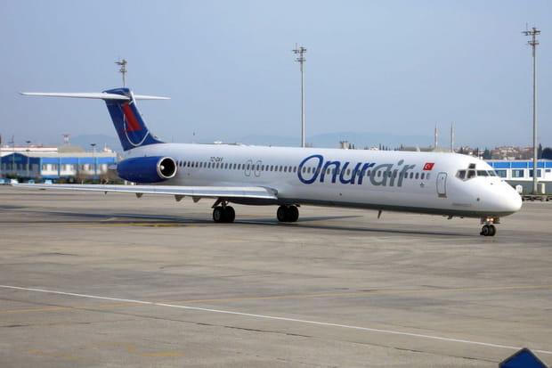 N°77ex-aequo:Onur Air et Air China