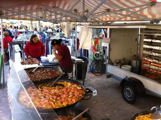 Plat : Les Délices de Leni  - Le stand -