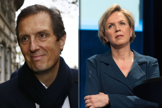 Virginie Calmels et Jérôme Chartier: les bras droits d'Alain Juppé et de François Fillon en couple