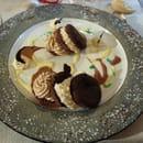 Dessert : L'Amaranthe  - Moelleux chocolat crème montée au cognac -