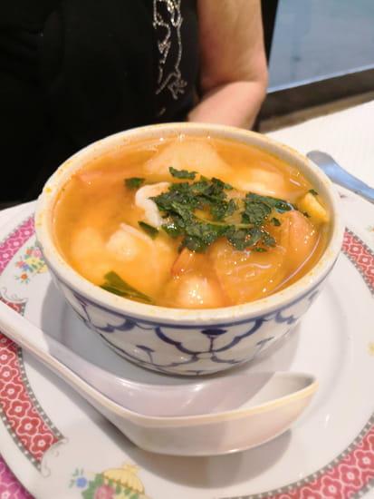 Entrée : Le Palais de Pekin  - Potage Thaï aux crevettes -