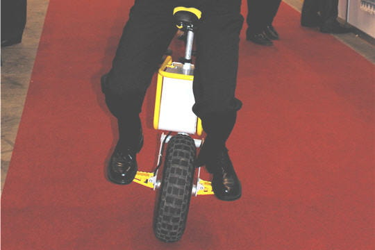 Monocycle électrique