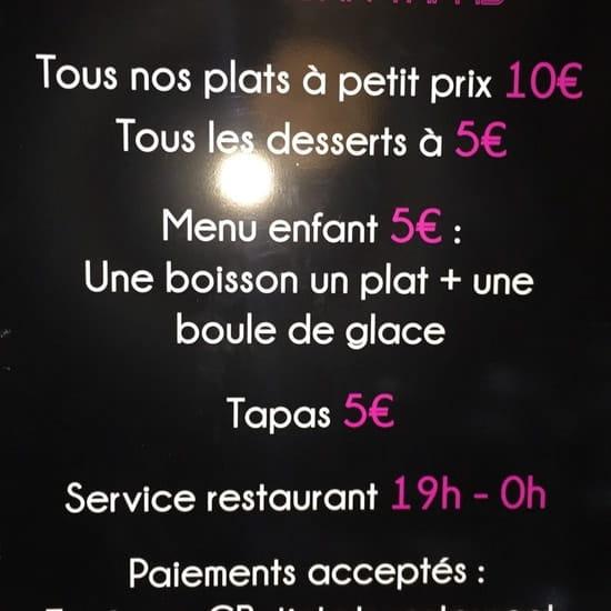 Restaurant : L'Endroit