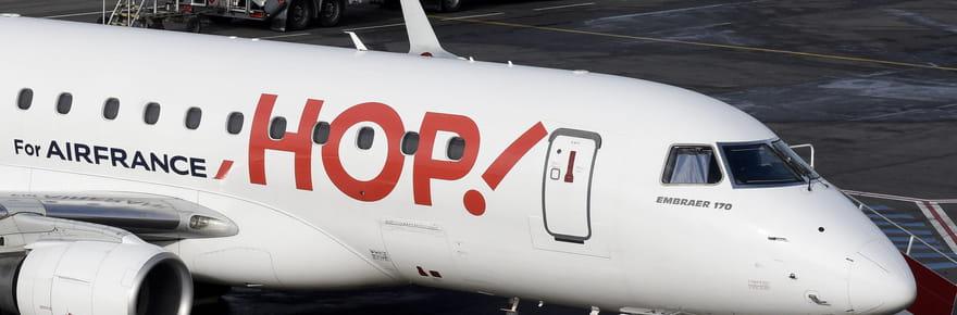 HOP Air France: une grève longue débute chez les pilotes, dates et infos