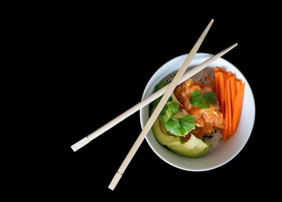 Plat : Fun Sushi  - Assiette Bo bun -   © Fun sushi