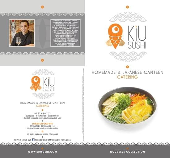 Kiu Sushi  - Le KIU SUSHI nouveau est arrivé !  -   © kiu sushi