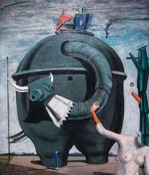 Max Ernst - L'Éléphant de Célèbes