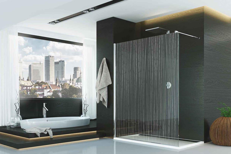 des belles douches à l\'italienne pour la salle de bains
