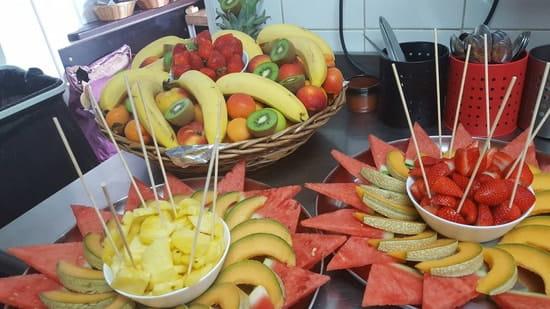 Dessert : Viana Sol  - Corbeille de fruits frais -