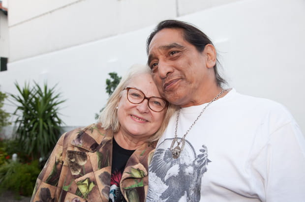 Josiane Balasko et George Aguilar