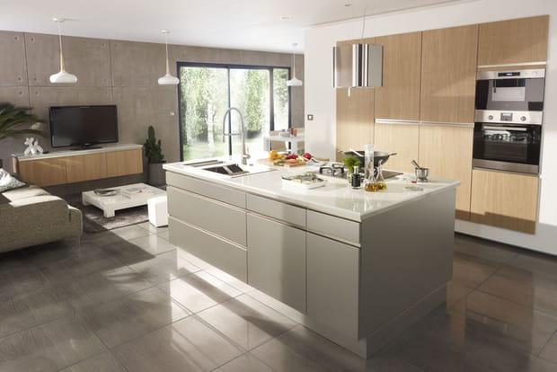 lot de cuisine lounge de castorama. Black Bedroom Furniture Sets. Home Design Ideas