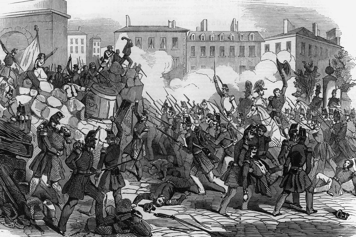 Revolution De 1848 Resume Causes Consequences De La Revolte