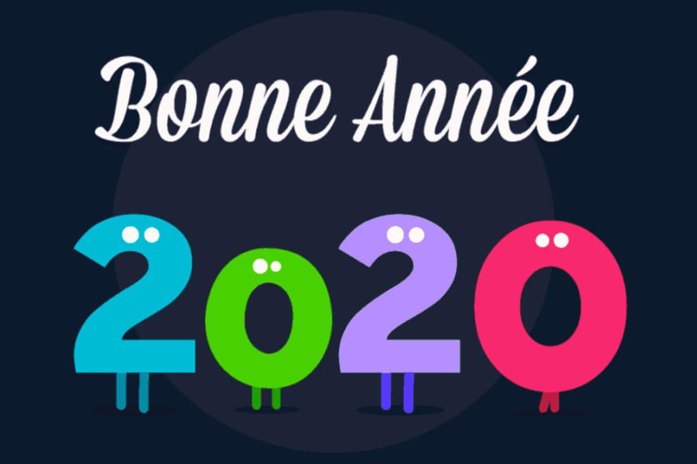 Bonne Annee 2020 Cartes Textes Images Gif Tout Pour
