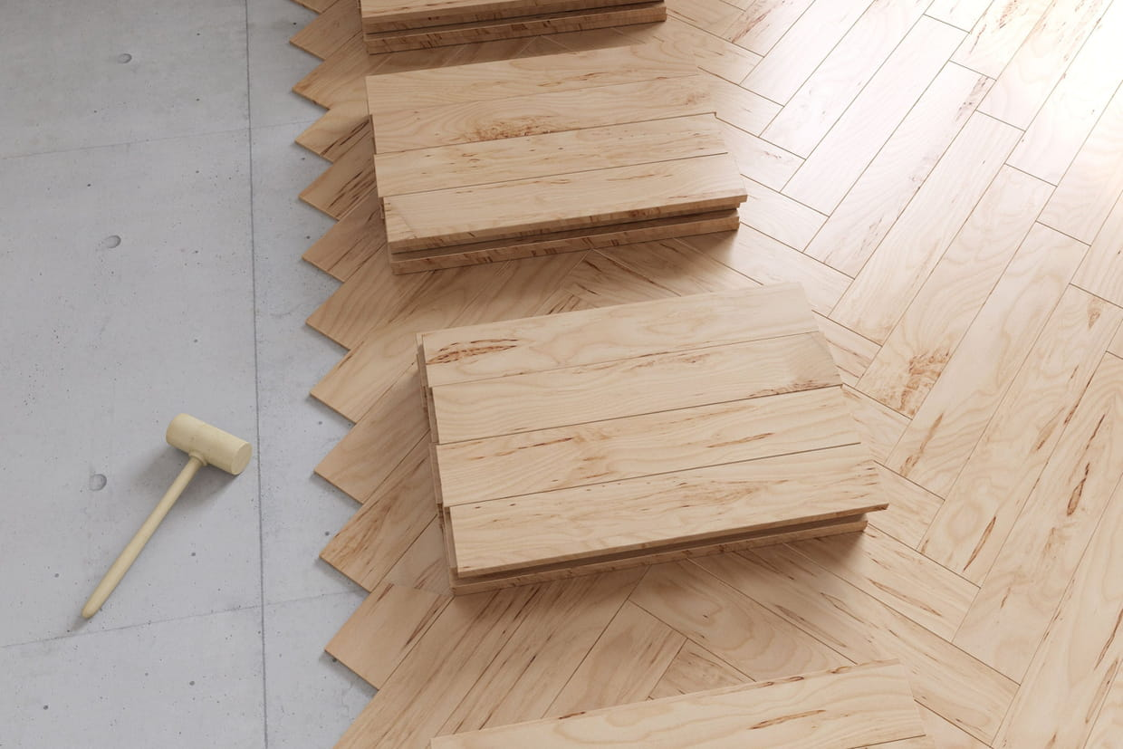 Poser du parquet sur du carrelage mode d 39 emploi facile for Pose parquet stratifie sur carrelage