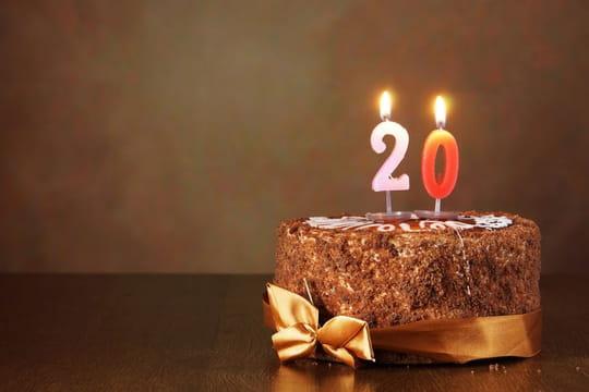 Texte d'anniversaire 20ans: exemples de textes