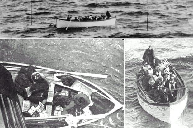 Titanic : les images des naufragés