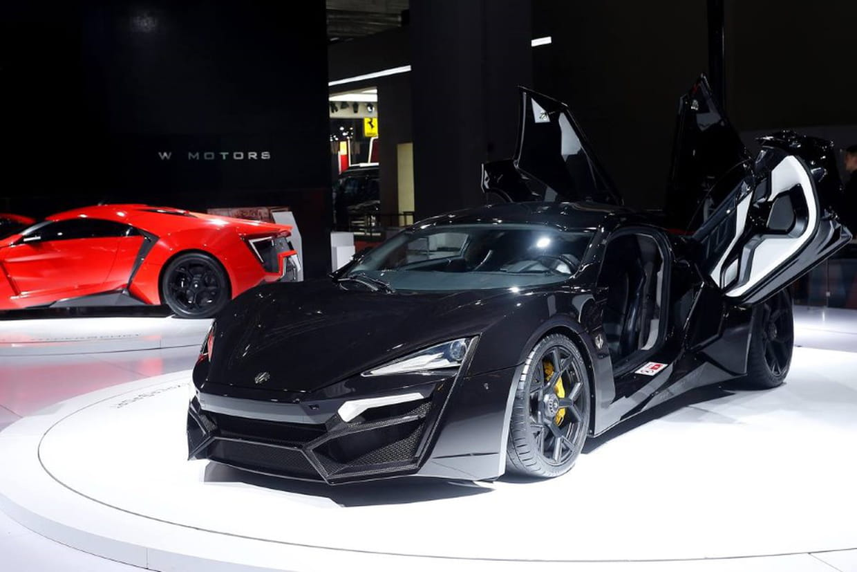 Lykan Hypersport L Exclusive Supercar Libanaise En Images