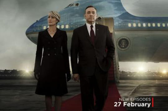 House of Cards saison 3: la date de sortie sur la nouvelle affiche