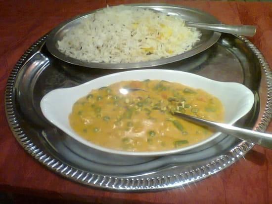 Bolly  Food  - Légumes Korma et son Riz Basmati -   © BF&G